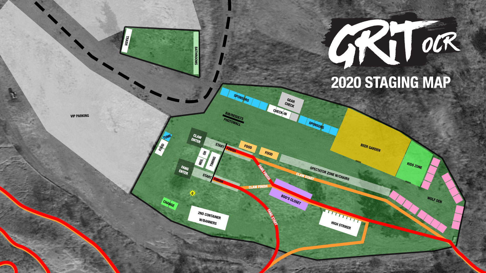 2020 Staging Map